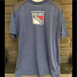 dfb624304 NHL Shirts - New York Rangers NHL dri-fit style T-shirt size XL